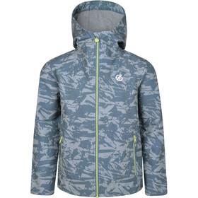 Dare 2b Gifted Softshell Jacket Jungen meteor grey shred print
